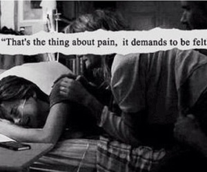 pain, tfios, and the fault in our stars image