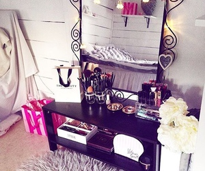 vanity, home, and home decor image