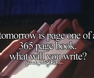 book, new year, and just girly things image
