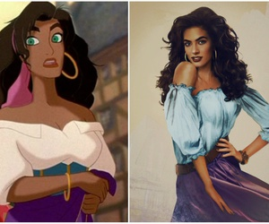esmeralda, girl, and disney image