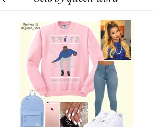 clothes, clothing, and Drake image
