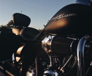 harley davidson, motorbike, and photography image