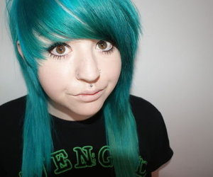 alternative, blue, and colorful hair image