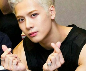 heart, jackson, and jackson wang image