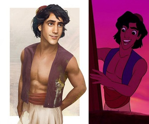 disney, aladdin, and prince image