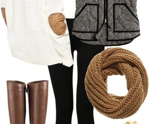 outfit, fall, and winter image