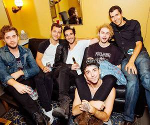 michael clifford, all time low, and 5sos image