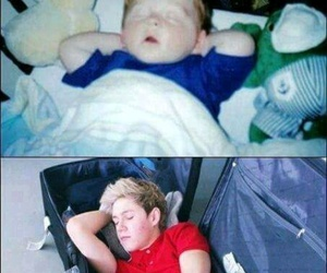 niall horan, one direction, and baby image