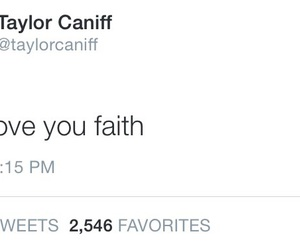 twitter, taylor caniff, and tweet image