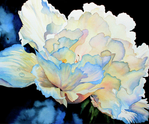 art, color, and flower image