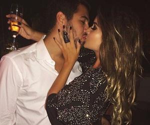 champagne, hair, and hug image