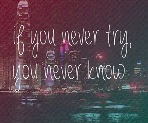 try, quote, and never image
