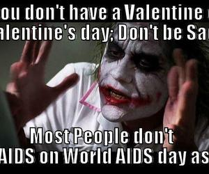 aids, funny, and joker image