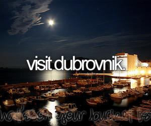Croatia, dubrovnik, and bucket list image