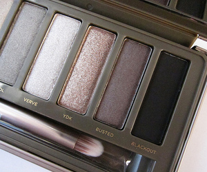 makeup, eyeshadow, and palette image