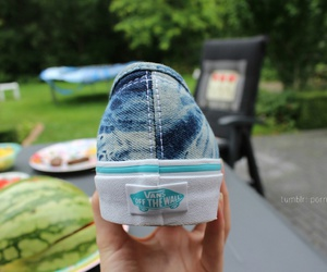 vans, cool, and blue image
