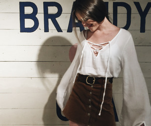fashion, style, and brandy melville image