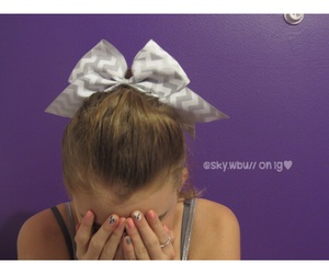 bow, cheer, and cool image