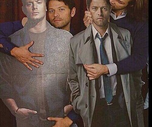 supernatural, jared padalecki, and misha collins image