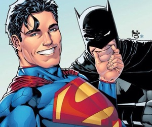 batman, superman, and selfie image