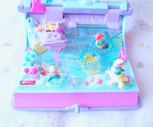 kawaii, polly pocket, and toys image