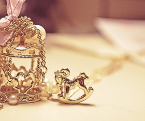 accessories, gold, and horse image