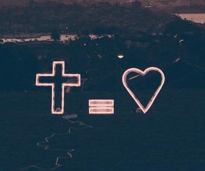 love, jesus, and cross image