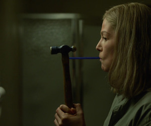 movie, rosamund pike, and thriller image