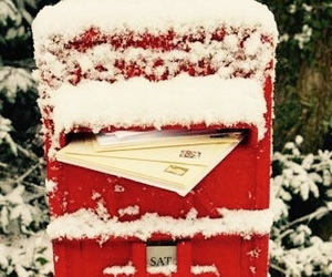 Christmas time, Letter, and red image