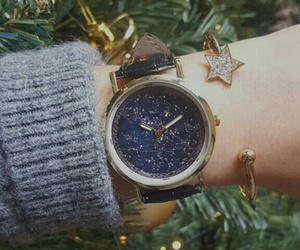 clock, must have, and stars image