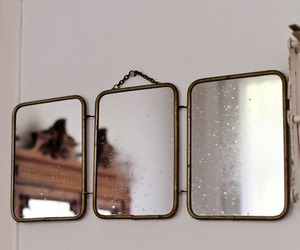 chic, mirrors, and decor image