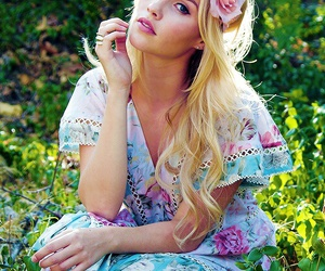 beautiful, flowers, and claire holt image