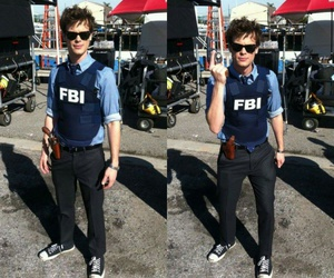 criminal minds, fbi, and matthew gray gubler image