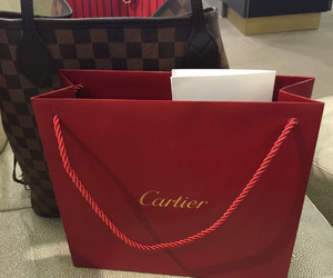 cartier, Louis Vuitton, and luxury image