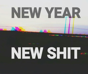 2016, new year, and new shit image