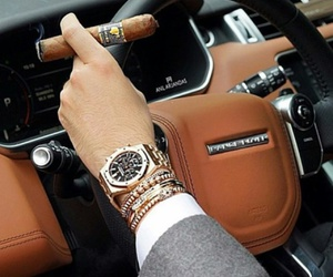 car, luxury, and men image