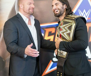 wwe, superstars, and triple h image