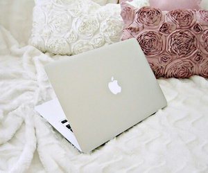 apple, macbook, and laptop image