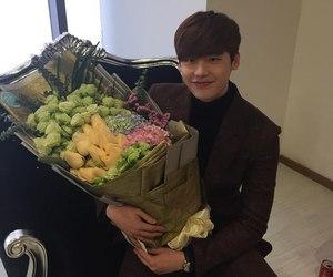 lee jong suk, kdrama, and flowers image