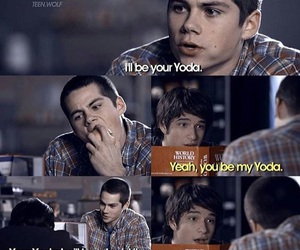 yoda, teen wolf, and stiles image