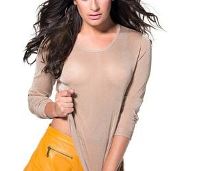 lea michele, beautiful, and outfit image
