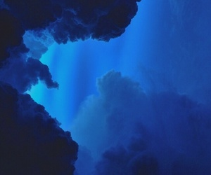 blue, clouds, and sky image