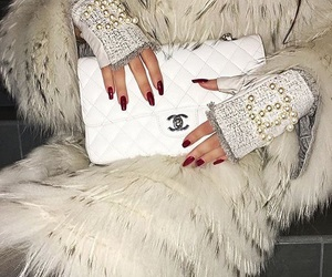chanel and gloves image