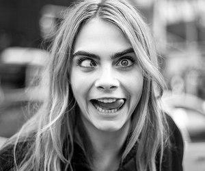 cara delevingne, model, and crazy image