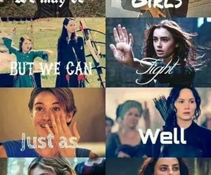 girl, harry potter, and divergent image
