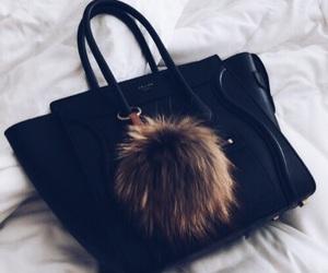 black, bag, and celine image
