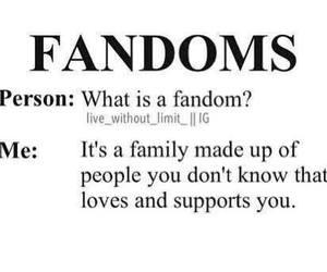 family and fandom image
