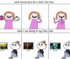 funny, harry potter, and me image