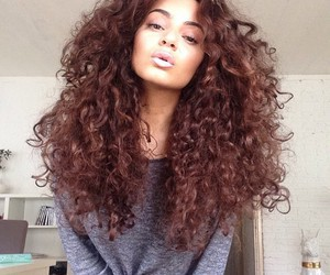beauty, natural, and curly image