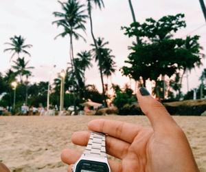 beach, girls, and paradise image